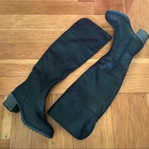 SO Black Knee High Boots NWOB size 7